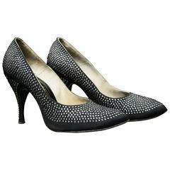 1950s Rhinstone Heels