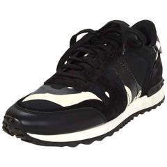 Valentino Black & White Camo Ltd. Ed. Sneakers sz 40