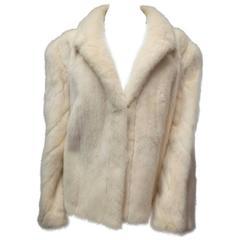 Ivory Mink Fur Jacket