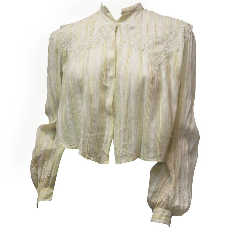 Edwardian Blouse  1
