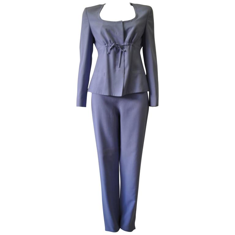 Gianni Versace Couture Silk Pantsuit