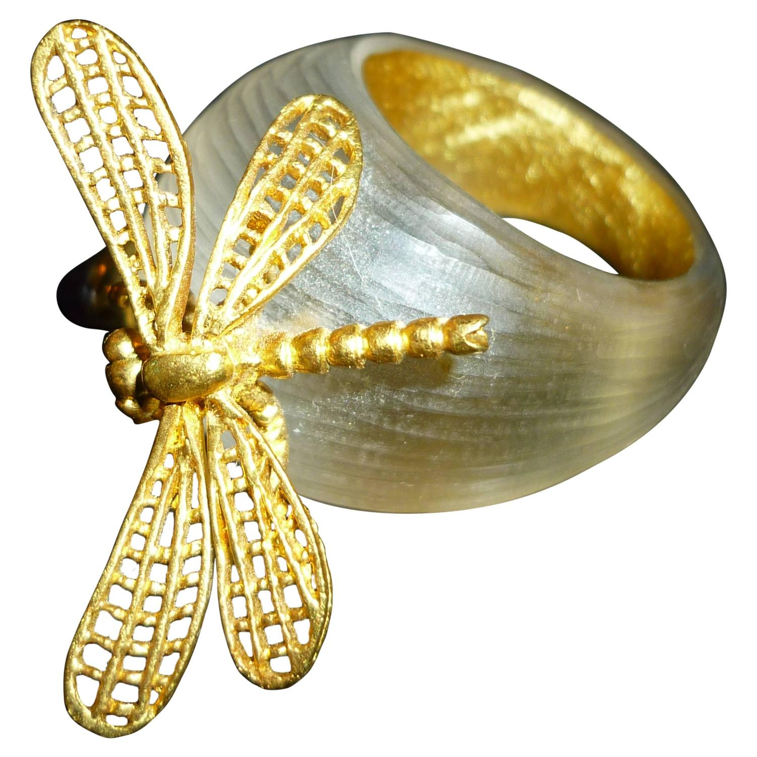 rings alexis havisham product bittar cluster row gold jagged jewelry gallery multi miss ring crystal lyst normal
