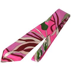 Emilo Pucci Bold Print Necktie