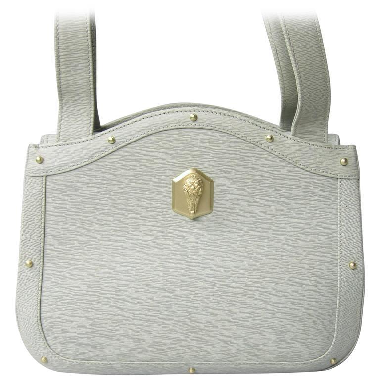 1990s Barry Kieselstein Cord Handbag Purse Kelly Bag New never used