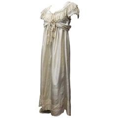 Edwardian Silk Nightgown