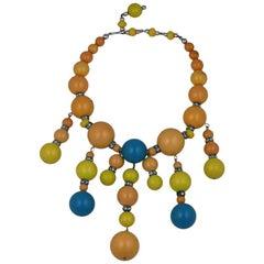 Bakelite Pop Art Necklace