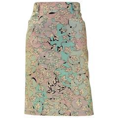 Pucci Cotton Skirt
