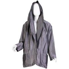 1990s Romeo Gigli Jacket with Hood-Collar