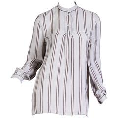 1970/80s Giorgio Armani Victorian Style Shirt
