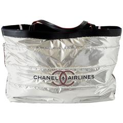 Chanel Airlines Limited Edition Reversible Tote Bag with Beach Towel