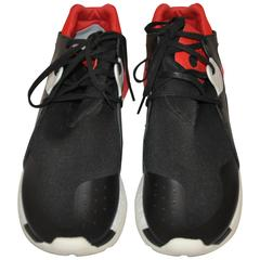 Yohji Yamamoto Men's Multi-Color Rubber Lace-Up Sneaker