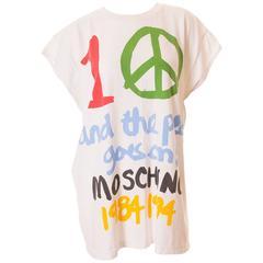 Moschino 10 Year Anniversary Tshirt