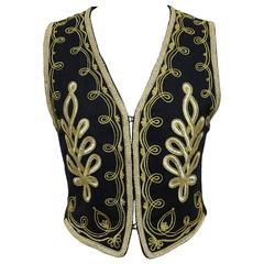 Kenzo embroidered evening waistcoat, c. 1980s