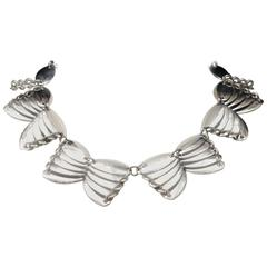 2000s Paco Rabanne Silver Metal Necklace