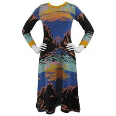 Alley Cat by Betsey Johnson Southwest Sunset Sweater Dress