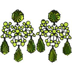 3D Girandole Earrings, MWLC