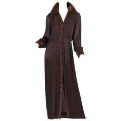 Travilla Fully Beaded Coat Dress