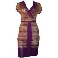 M. Missoni multi colored Knit Dress