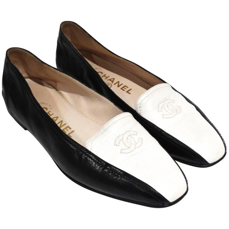1984 Chanel Two-Tone Loafer  1