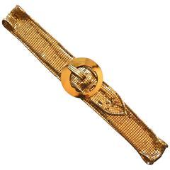 1930s Golden Mesh Belt