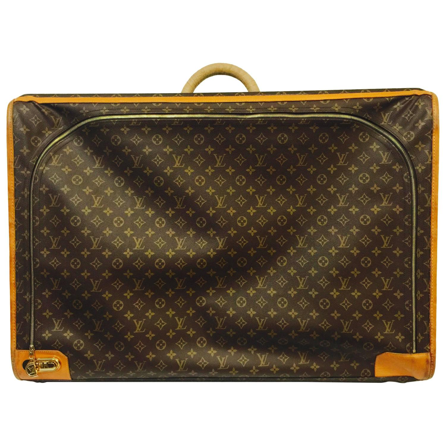 Louis Vuitton Monogram Canvas Pullman With Combination ...