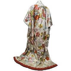 1950s Ceremonial Embroidered Kimono