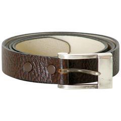 Antonio Pineda Sterling Belt Buckle