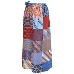 1970's Vintage Patchwork Skirt