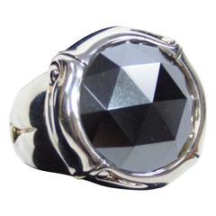 John Hardy Sterling Hematite Ring