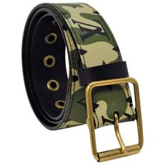 most wanted Louis Vuitton camouflage belt