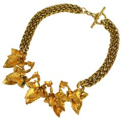 Dominique Aurientis Gilt Ivy Collar