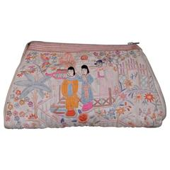 Chinese Hand Embroidered Silk Bag