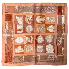 Hermes Silk Pocket Square