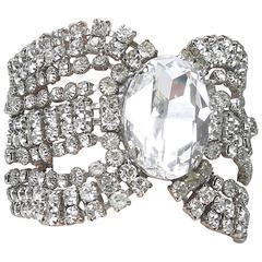 Robert Sorrell Vintage Crystal Bracelet, 1980s