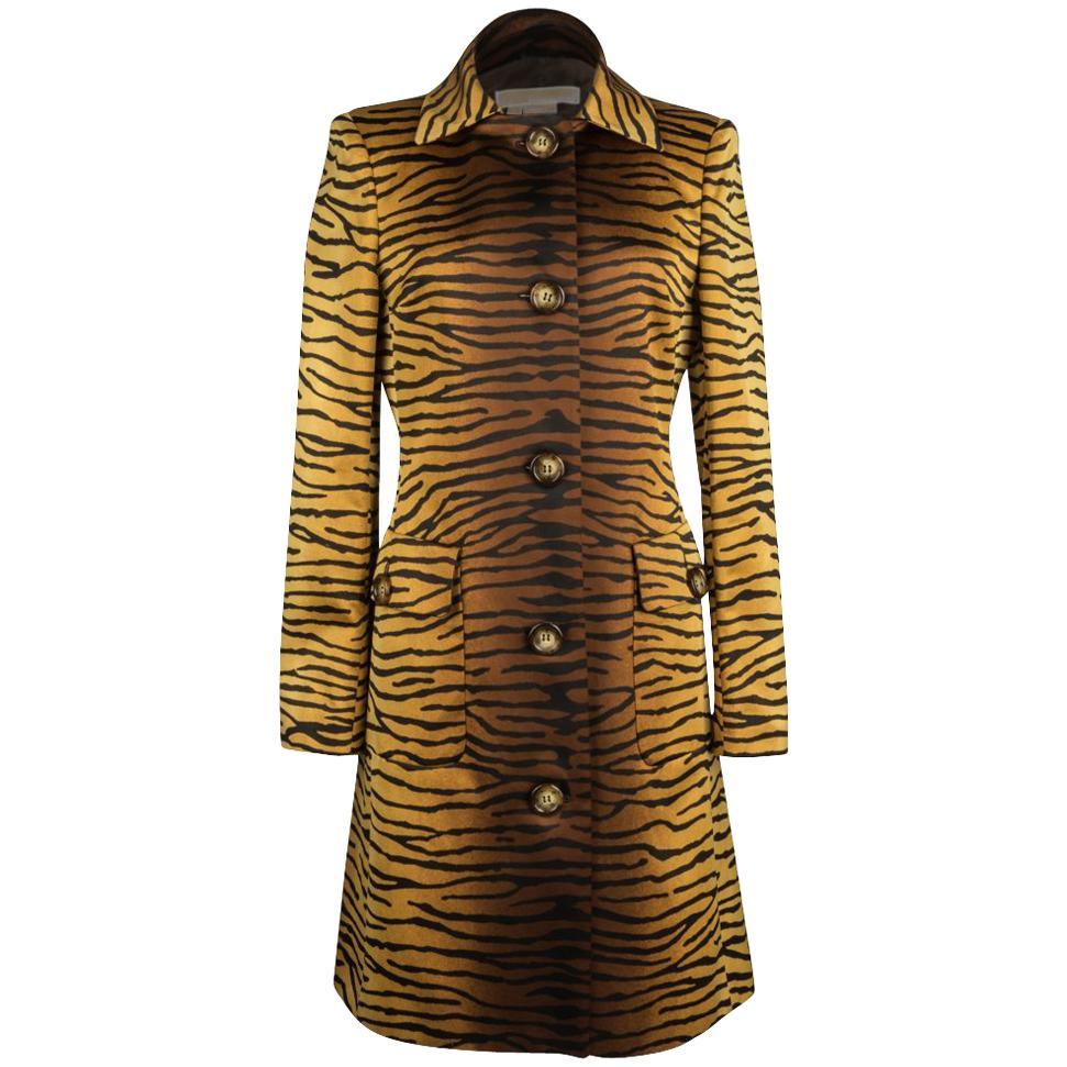 Michael Kors Coat Divine Timeless Animal Print 8