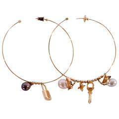 Louis Vuitton Earrings 18K Gold