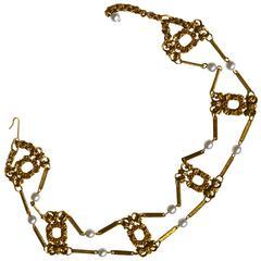 1960s Victorian Revival Collar
