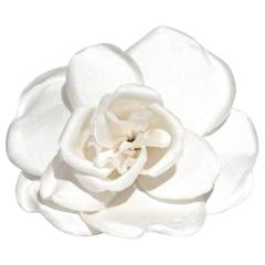 1996 Chanel Camellia Flower Brooch