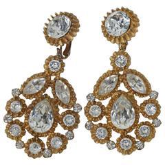 Kenneth Jay Lane 1960s Earrings