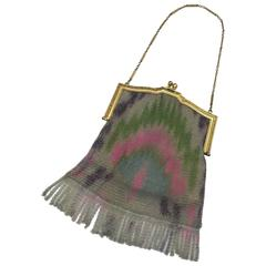 Art Deco 1920's Mesh Bag. Whiting and Davis.