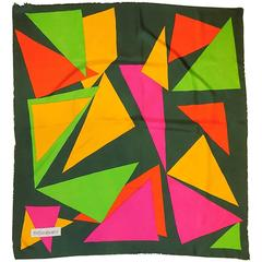 "Vintage Yves Saint Laurent ""Triangle"" Scarf  Rare and Fabulous!!"