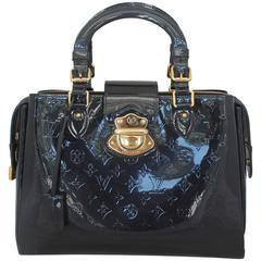 "Louis Vuitton Navy Monogram Vernis ""Melrose Avenue"" Handbag - GHW - 2010"