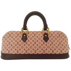 Louis Vuitton Mini Lin Cerise Alma Long Excellent Condition