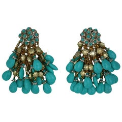 Massive Italian Earrings by Coppola + Toppo