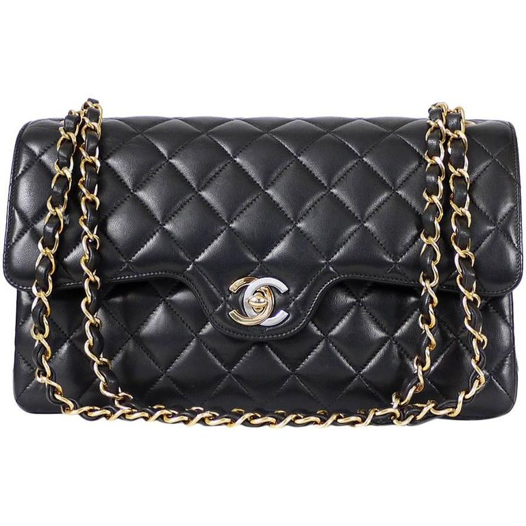 64d0aac78356 Chanel Chanel 2.55 Double Flap Classic Limited Edition Rare at 1stdibs