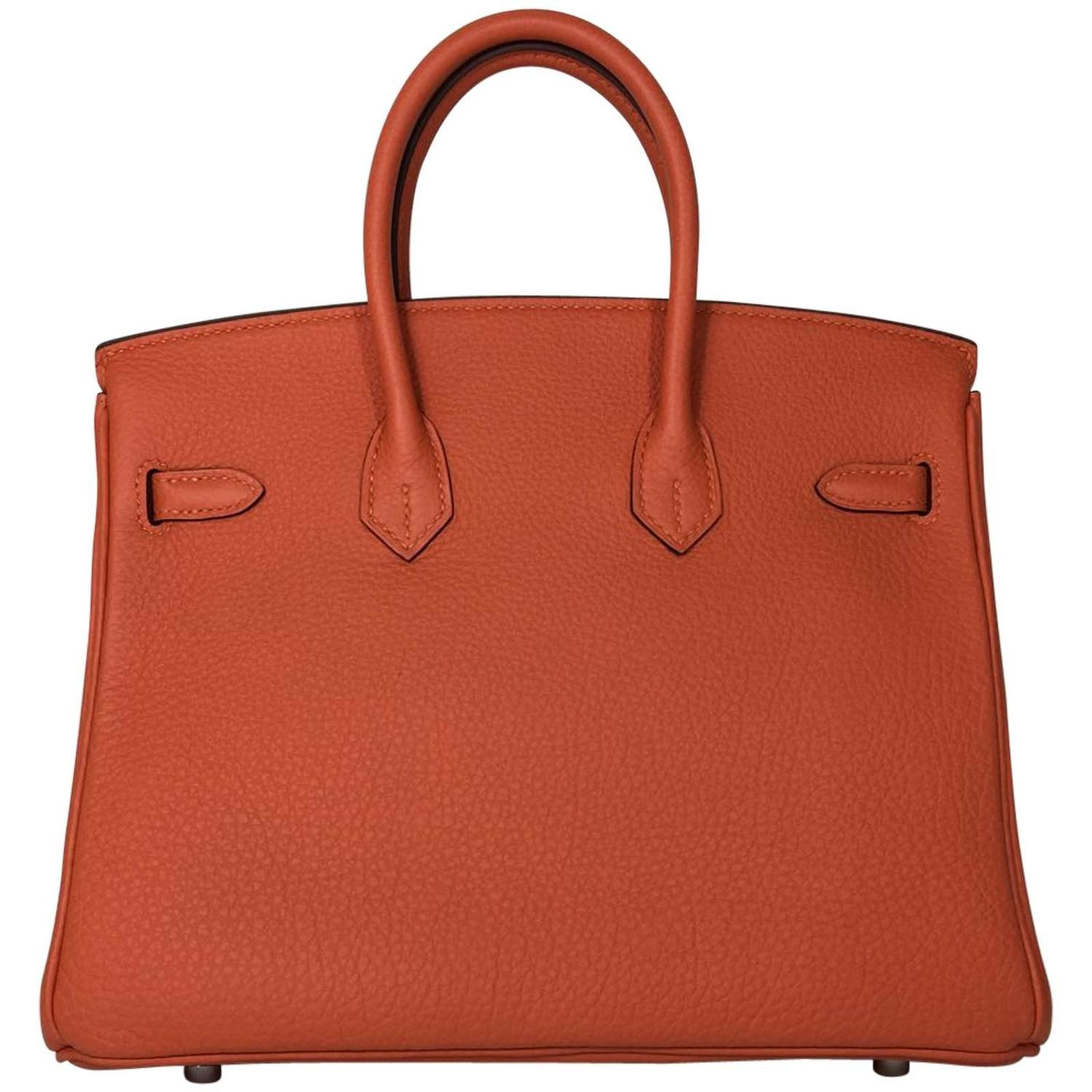 black hermes bag - Hermes Birkin 25 Fue Togo PHW For Sale at 1stdibs
