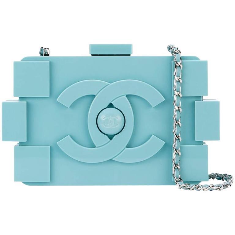 Chanel Boy Brick Clutch 1