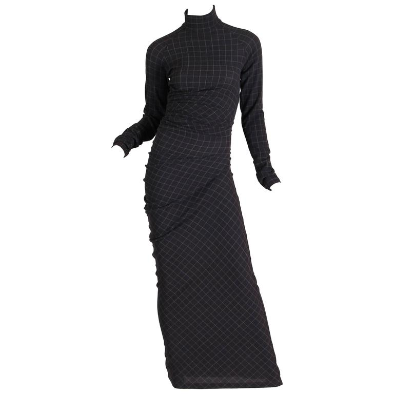 Jean Paul Gaultier Spiral Cut Dress