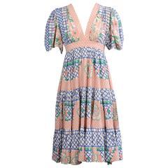 Ossie Clark for Radley Dress, Celia Birtwell Print