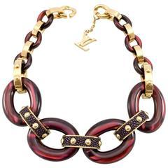 Louis Vuitton 'Gimme a Clue' Collection Necklace - 2011